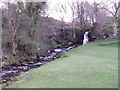 SD8997 : Waterfall near Thwaite by Miss Steel
