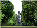 TQ1876 : Pagoda, Kew Gardens by Christine Matthews
