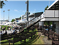 TQ2905 : The County Ground, Hove: the Pavilion by John Sutton