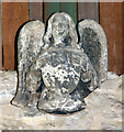 TQ2276 : St Mary, Church Road, Barnes - Corbel by John Salmon