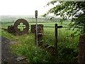 SD6711 : The start of a footpath to Barrow Bridge by Ian Greig