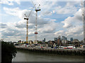 TQ3777 : Greenwich Reach: development resumes by Stephen Craven