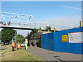 TQ3577 : No access to Millwall FC by Stephen Craven