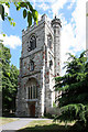 TQ3983 : All Saints, Church Street, West Ham - Tower by John Salmon