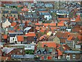 NZ8911 : Whitby rooftops by Steve  Fareham
