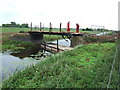 TF3801 : Bridge under construction - The Nene Washes by Richard Humphrey