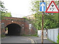 SP0885 : Kyrwicks Lane railway bridge by Michael Westley