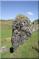 NM8026 : A rock pinnacle on Kerrera by Walter Baxter
