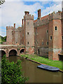 TQ6410 : Herstmonceux Castle by Oast House Archive