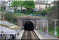 TQ8009 : Bo-Peep Tunnel, St Leonard's Warrior Square Station by N Chadwick