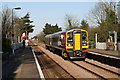 TG1100 : Train passing through Wymondham Station by Glen Denny