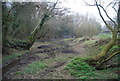 TQ5746 : Old channel of the River Medway near Little Lucifer's Bridge by N Chadwick