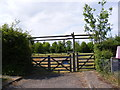 TM3068 : The entrance to Badingham Pocket Park by Adrian Cable