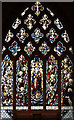 TQ2477 : St Thomas of Canterbury, Rylston Road, Fulham - Stained glass window by John Salmon