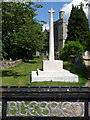 SU5517 : Bishops Waltham: the war memorial by Chris Downer