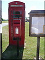 SU2517 : Nomansland: postbox № SP5 326 and phone by Chris Downer