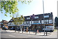 TQ3666 : Row of shops, Wickham Rd by Nigel Chadwick