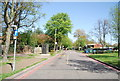 TQ3766 : Monks Orchard Rd by N Chadwick