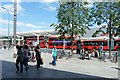 TQ2379 : Bus station at Shepherd's Bush by Ruth Sharville