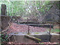 SX3873 : Machine bases in the woods south of Luckett by Rod Allday