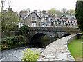 SH5826 : Bridge at Llanbedr, Gwynedd by Christine Matthews