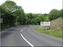 SW9272 : Little Petherick entrance sign by Alex McGregor