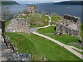 NH5328 : View over Urquhart Castle by Robin Drayton