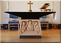 TQ3063 : St Paul, Mollison Drive, Roundshaw Estate - Altar by John Salmon