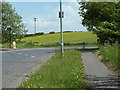 SK3580 : Dyche Lane exit from the roundabout by Andrew Hill