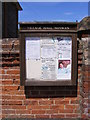 TG0329 : Hindolveston Village Notice Board by Adrian Cable