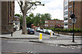 TQ2480 : Ladbroke Road and Lansdowne Road junction by John Salmon