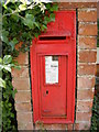 TG0526 : The Green George V  Postbox by Adrian Cable