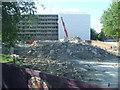 TQ3278 : Heygate Estate demolition by Malc McDonald