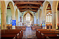 SY6294 : St Mary's parish church - Frampton (interior) by Mike Searle
