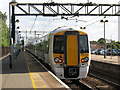 TL3602 : New train at Cheshunt by Stephen Craven