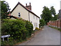 TM3050 : Church Lane, Bromeswell by Adrian Cable