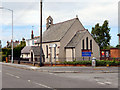 St Cecilia's Church at the corner of Mold Road and Chambers Lane, Mynydd Isa