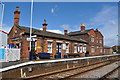 TF1443 : Heckington Railway Station by Ashley Dace