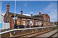 TF1443 : Heckington Railway Station by Ashley Dace