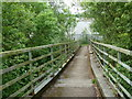 SK4064 : Footbridge over the River Rother by Andrew Hill