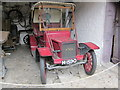 SJ3248 : Antique car at Erddig Hall by Jeff Buck
