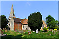 SP7026 : St. Michael's Church, Steeple Claydon by Cameraman