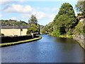 SD9324 : Rochdale Canal from Fielden Wharf by David Dixon