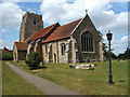 TL7943 : St Andrew's church, Belchamp St Paul, Essex by Peter Stack