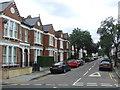 TQ2974 : Hambalt Road, SW4 by Malc McDonald