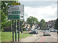 SP1179 : Shirley - Haslucks Green Road Approaching A34 Stratford Road by Roy Hughes
