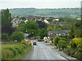 SK4081 : Overlooking Ridgeway village by Andrew Hill