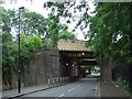 TQ3172 : Leigham Vale railway bridges, near Tulse Hill by Malc McDonald