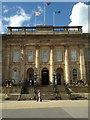 SJ9399 : Ashton-under-Lyne Town Hall by Steven Haslington