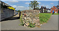 J3673 : Former railway wall, Belfast by Albert Bridge